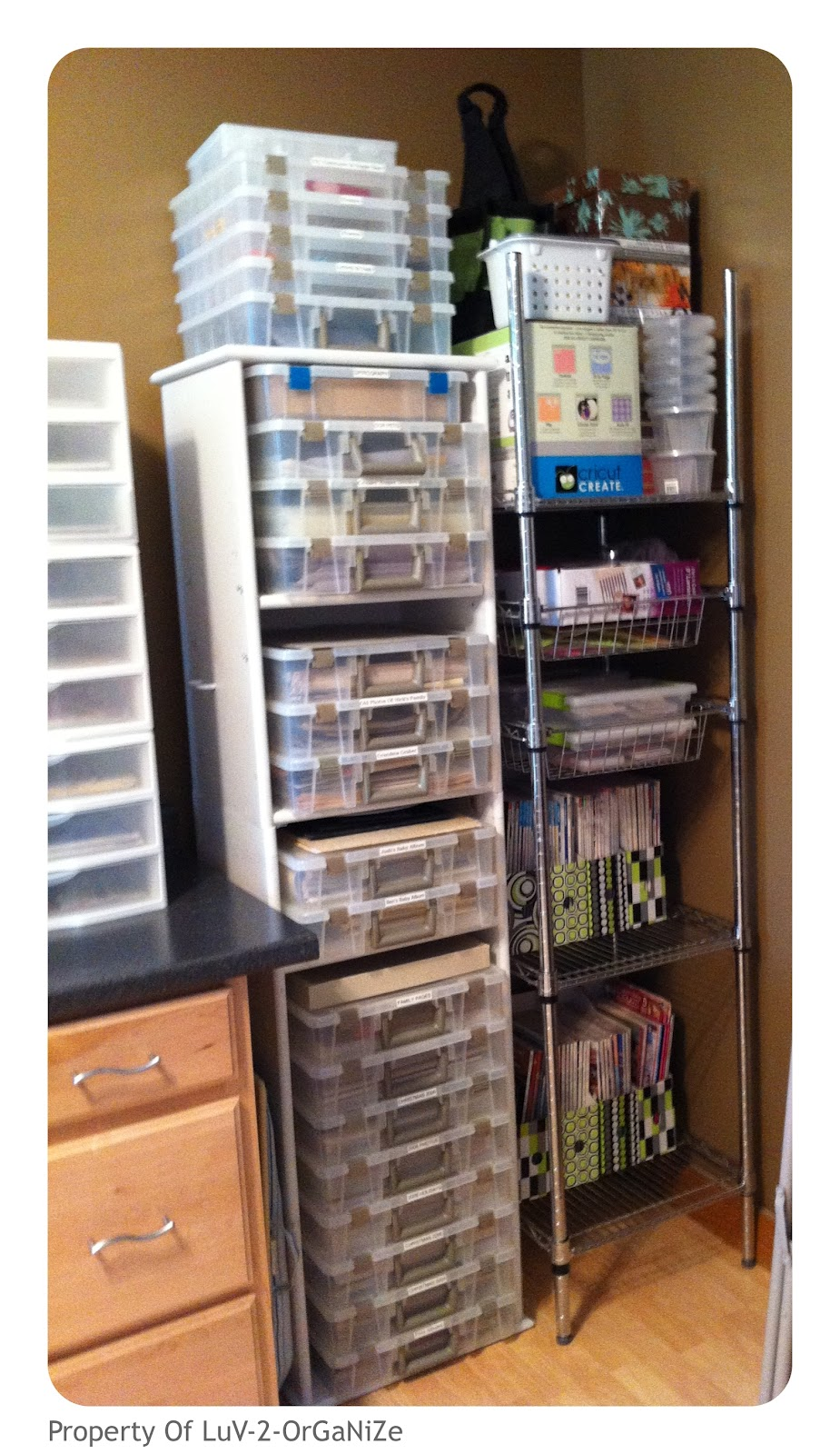 Scrapbooking room organization for Room organization