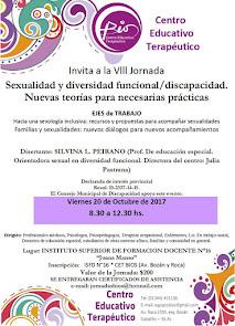 VIII Jornada: Sexualidad y diversidad funcional/discapacidad.