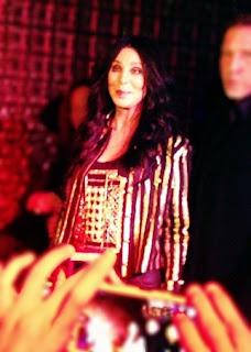 Cher at Rasputin club