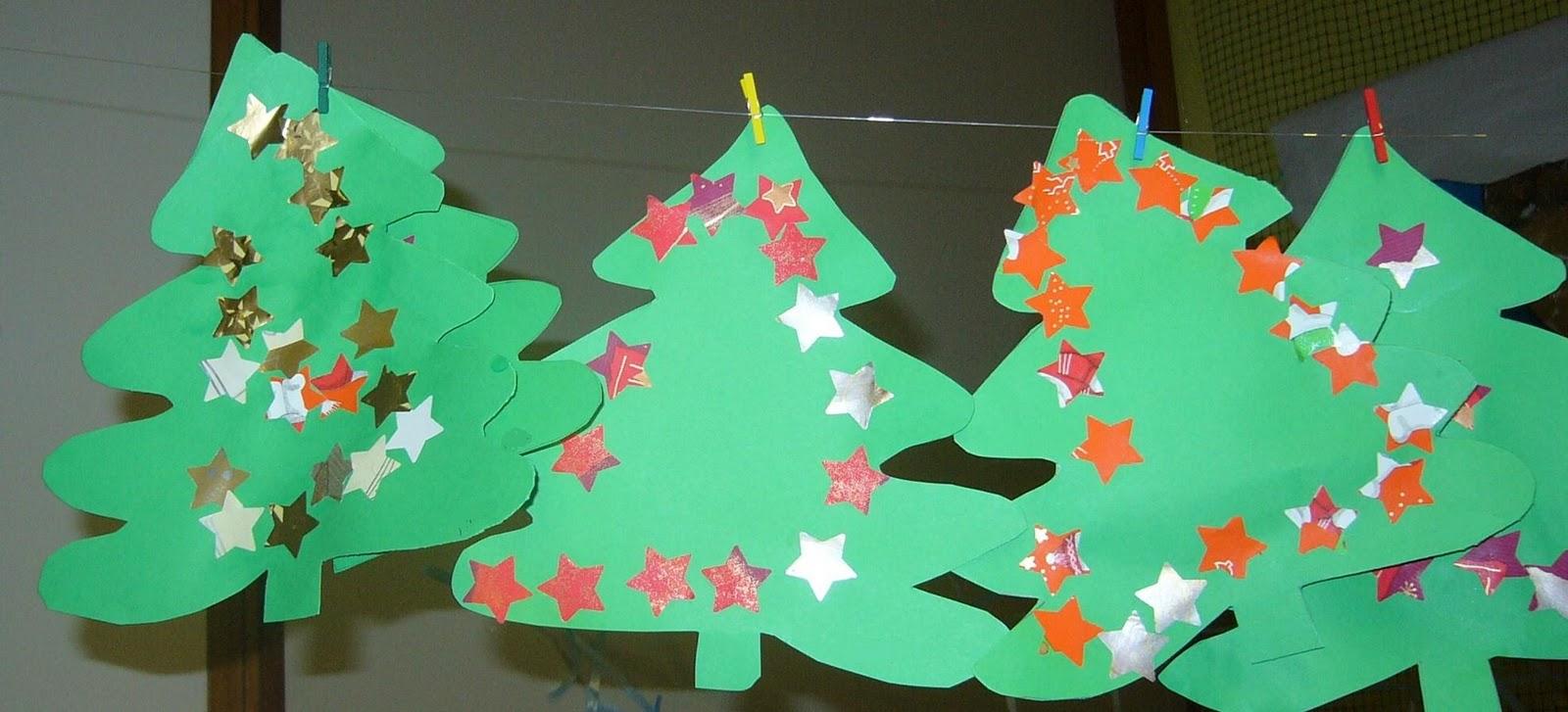 Scuola dell 39 infanzia di coseano addobbi di natale nella for Addobbi natalizi per la classe
