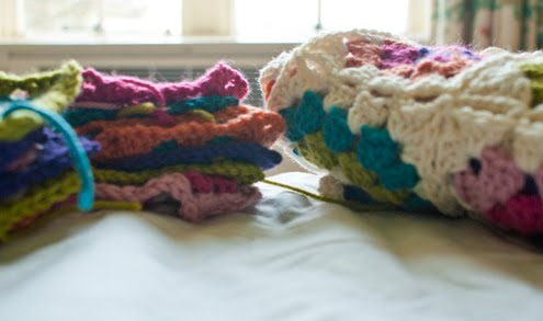 Crocheting Lessons Near Me : Monty; knitting lessons and textiles design in London: crochet granny ...