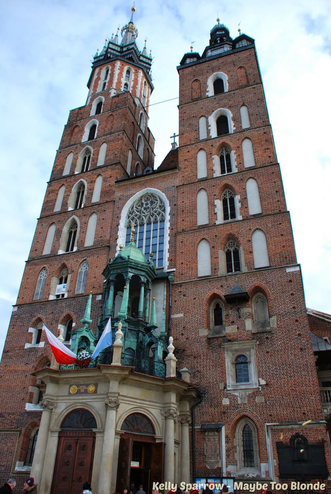 St. Mary's Basilica - Krakow Poland