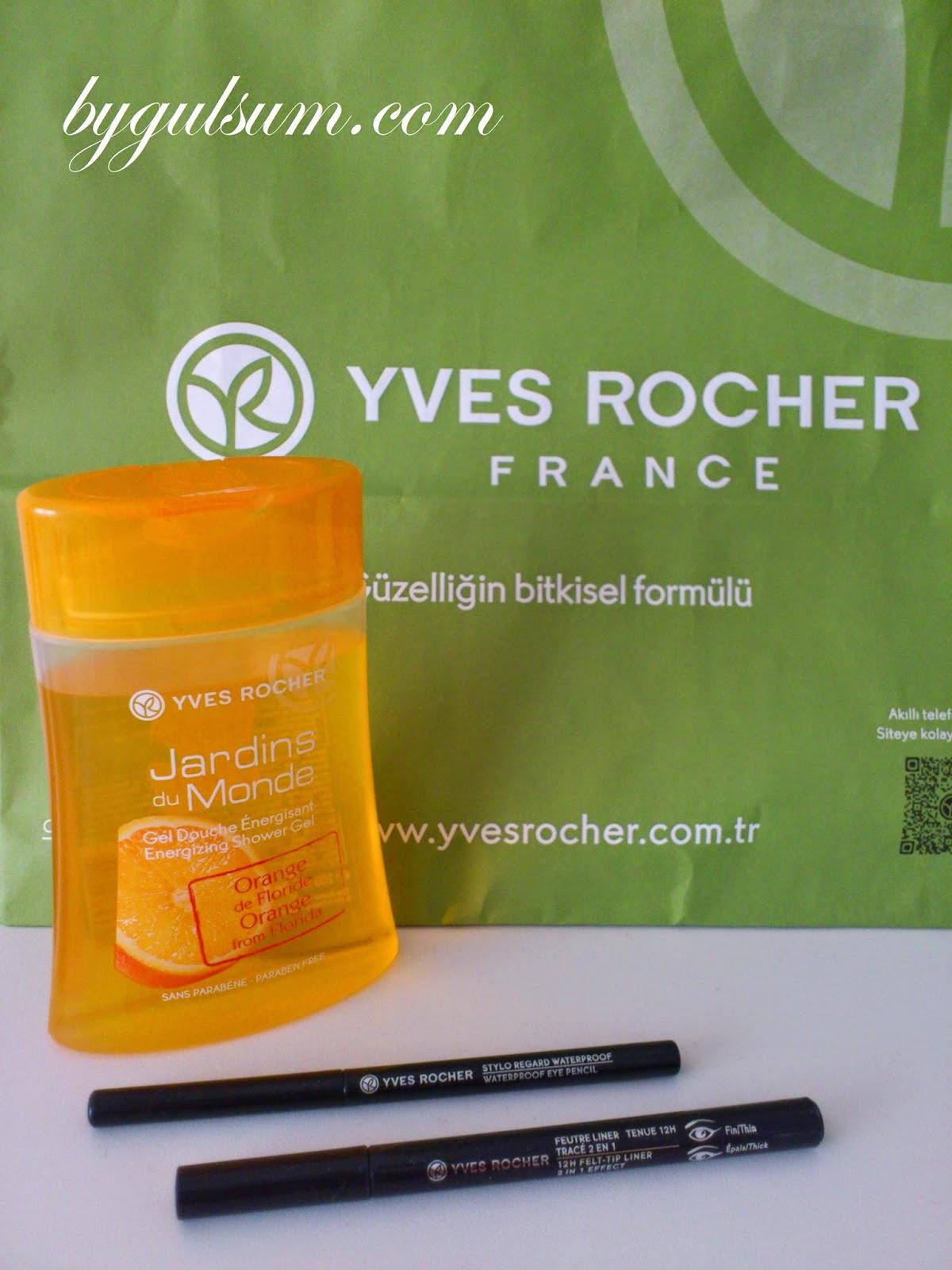 Yves Rocher Alışverişi
