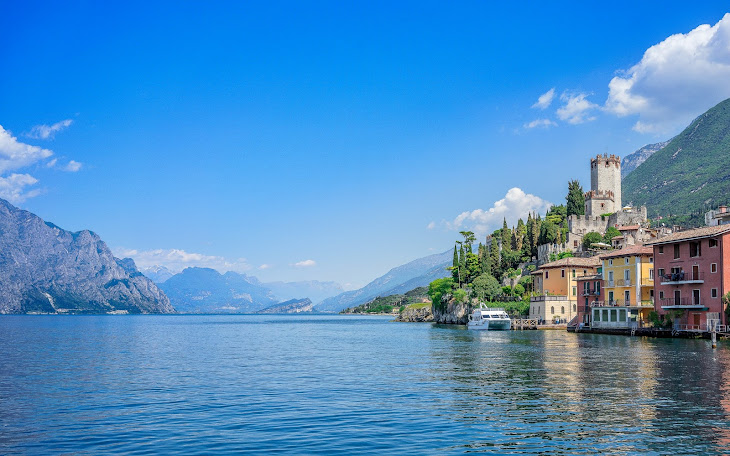 Lake Garda in Italy