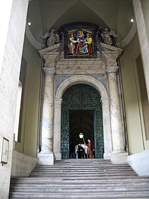 Sistine Chapel door