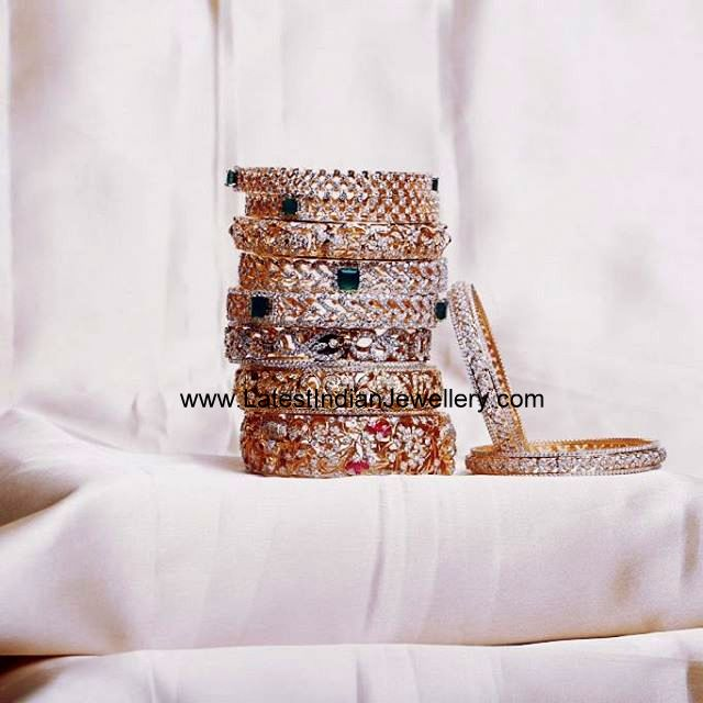 Diamond Bangles from Kirtilals