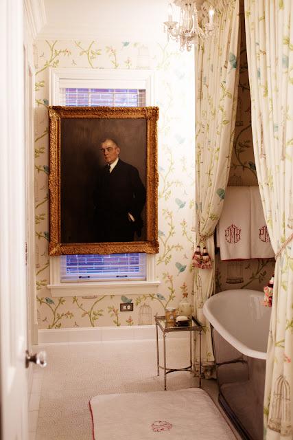 The Pink Doormat Marie Antoinette Inspired Bathroom