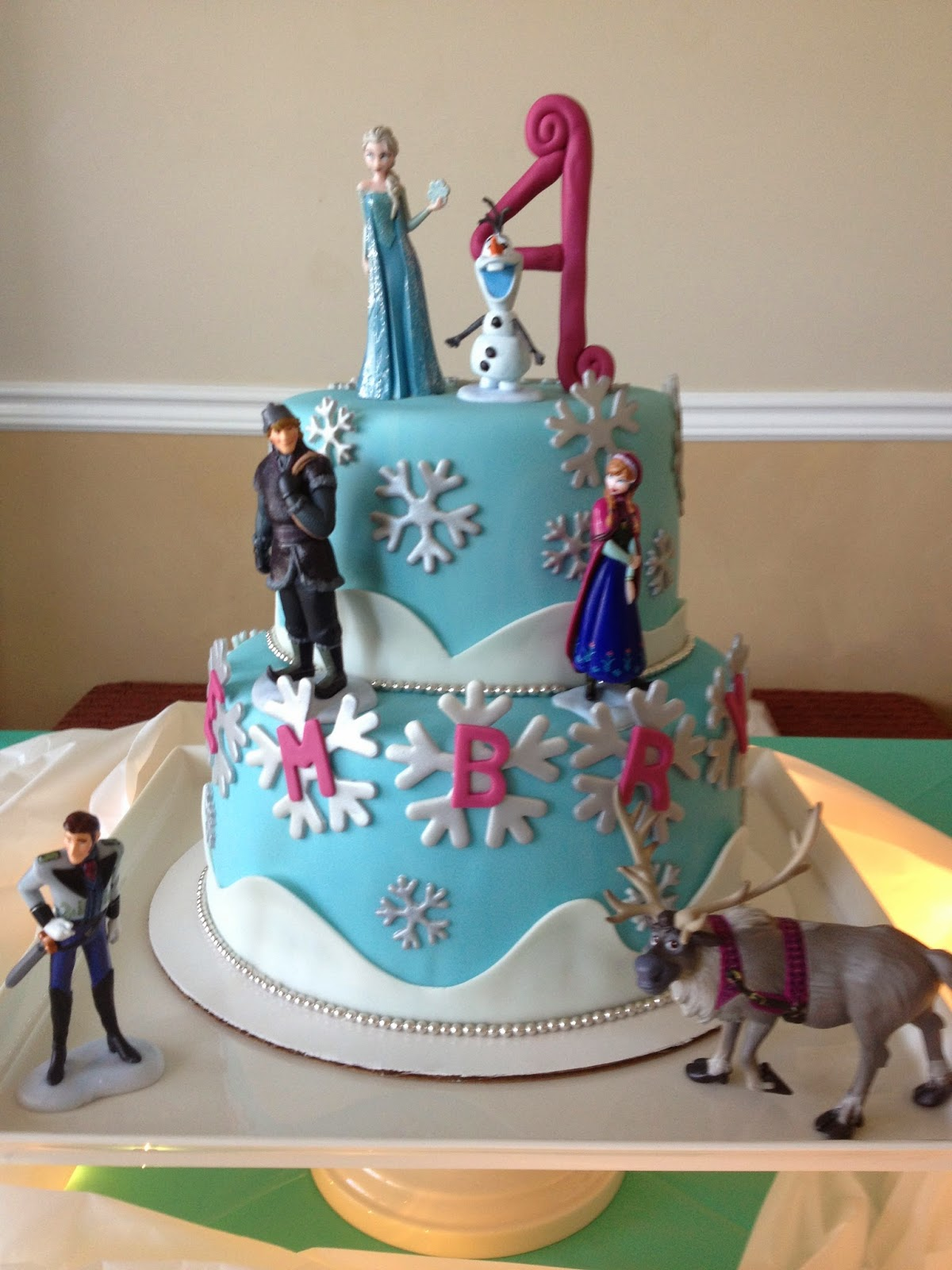 Sugar Love Cake Design: Frozen Birthday Cake