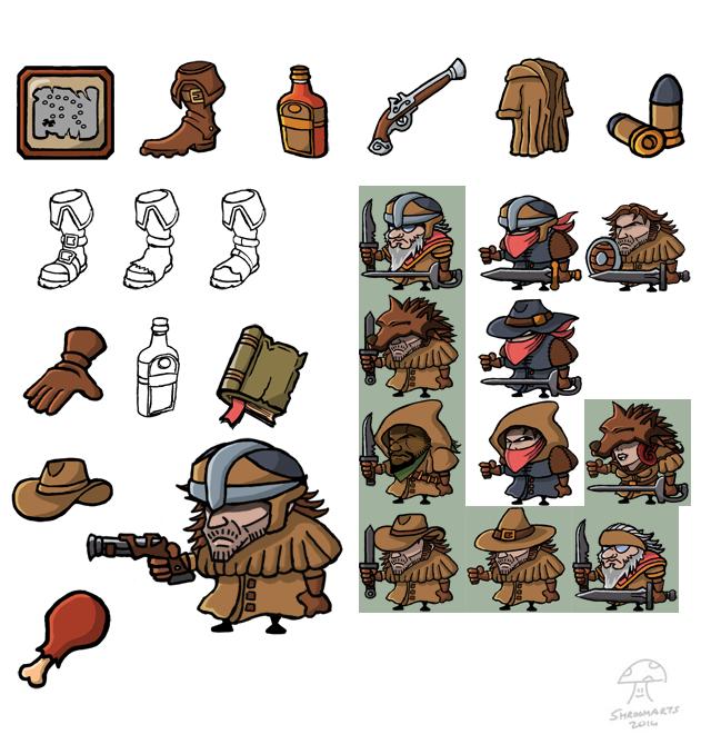 gravebound items