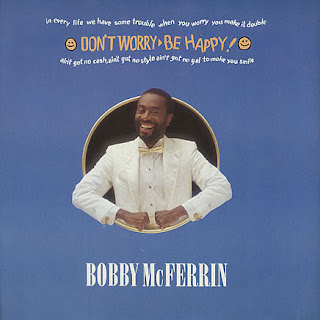 Don't Worry Be Happy Bobby McFerrin Single cover artwork