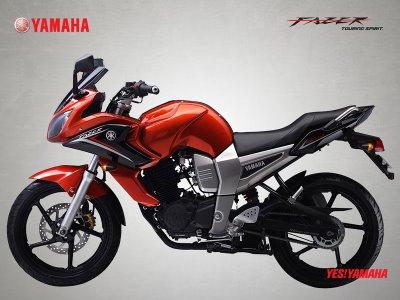 Sandeep Rana Yamaha Fazer 150