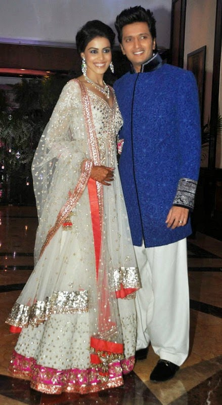 Indian Famous Celebrity Riteish Genelia Wedding Pictures