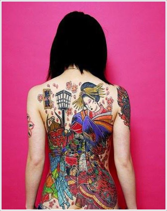 Get The Amazing Japanese Tattoo Designs
