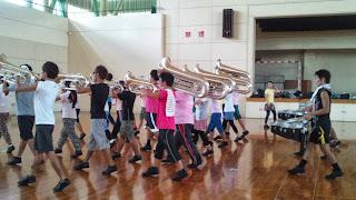 10月12日 体育館練習