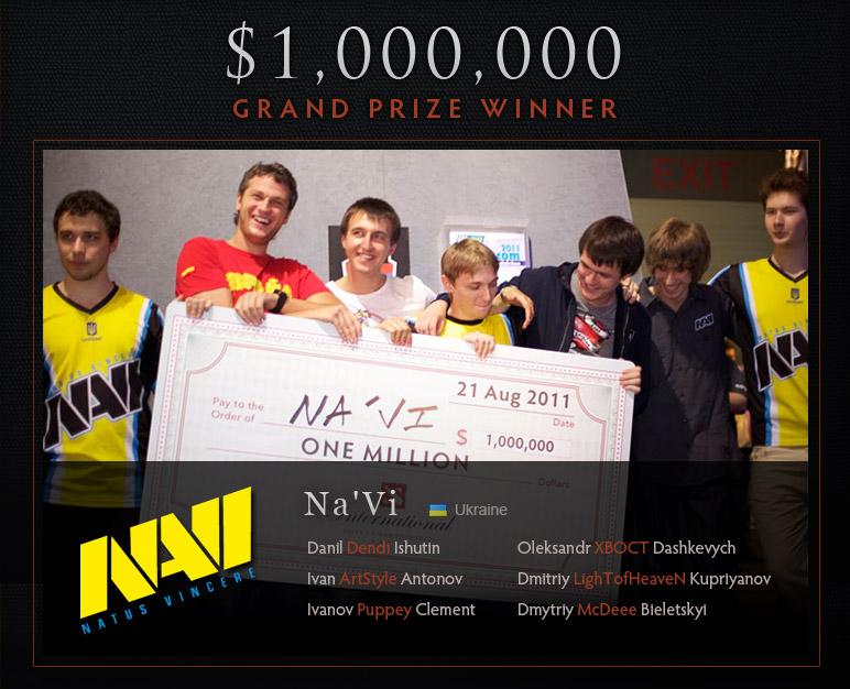 Finalmente concluyo el torneo y los ganadores del millón de dolares
