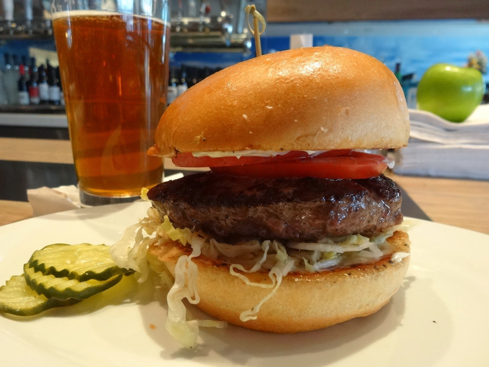 the foodie monster!: great burgers and even better happy hour at