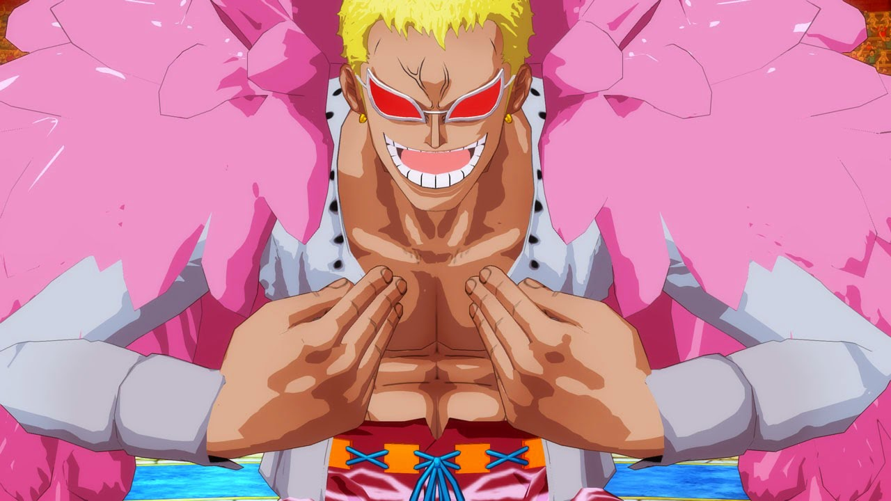 One Piece Unlimited World Red Doflamingo