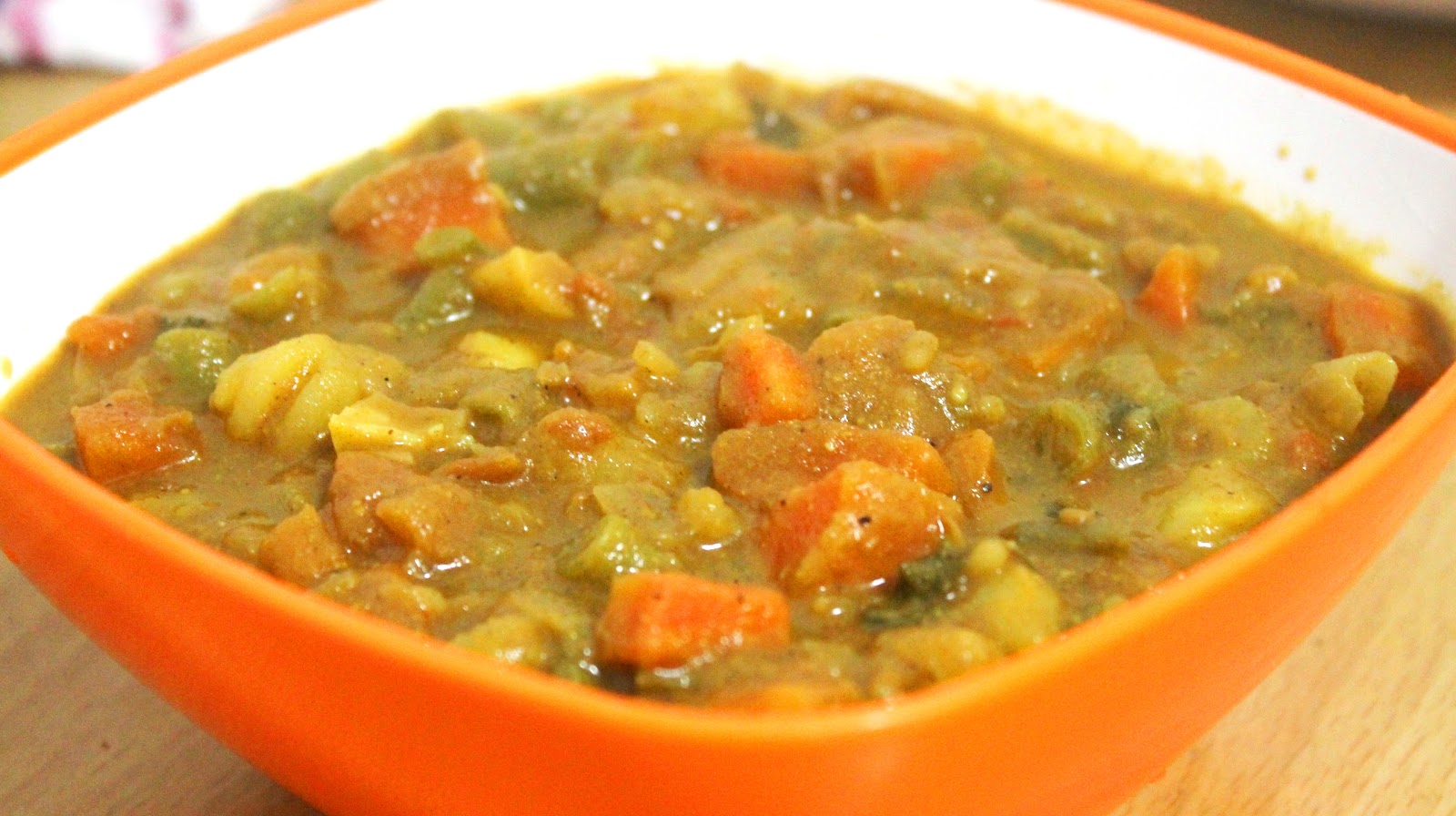 Saju's Tastes.....: Spicy Vegetable Curry