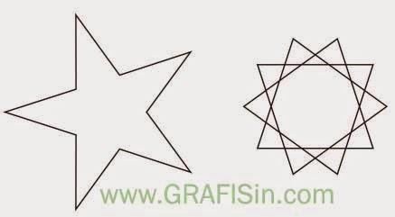 Vektor Bintang Lima dan Bintang 10