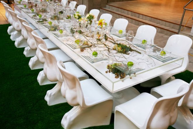 Dining by Design table by 7x7