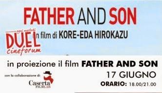 'Father and Son', il dramma familiare giapponese chiude il primo ciclo del Cineforum al Duel Village di Caserta