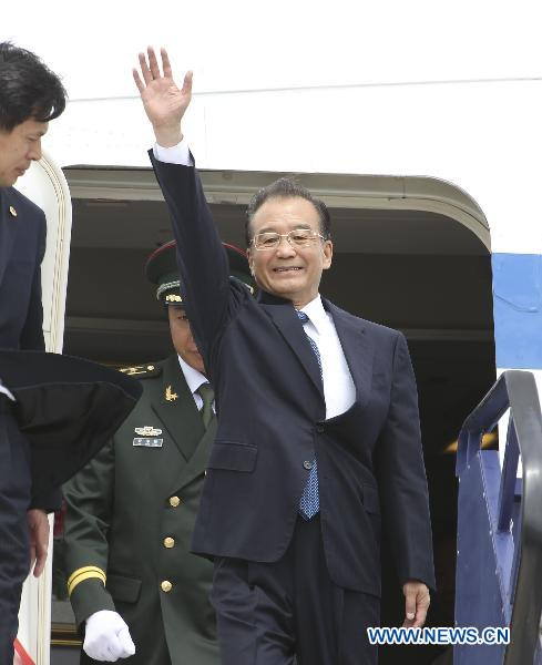 Chinski Premier z wizyta w Budapeszcie 24 czerwca 2011