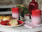 """Desayuno en """" degrade"""""""