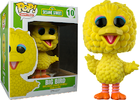 Funko Pop! Big Bird Flocked