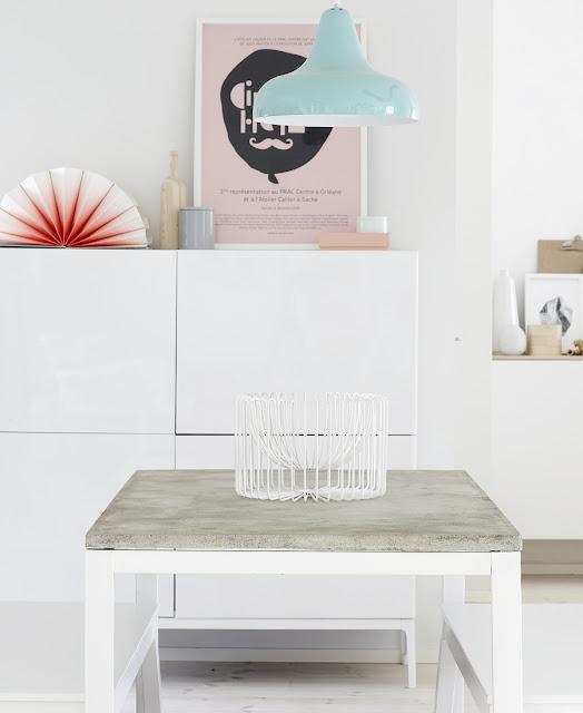 DIY: mesa de hormigón