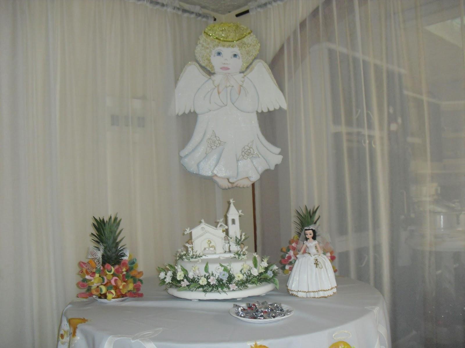 El taller de marleny decoracion de primera comunion for Decoracion de adornos