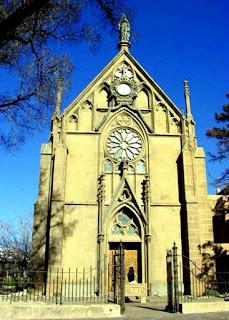 El enigma de la escalera de la capilla Loretto