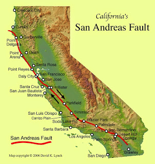 California's San Andreas Faults