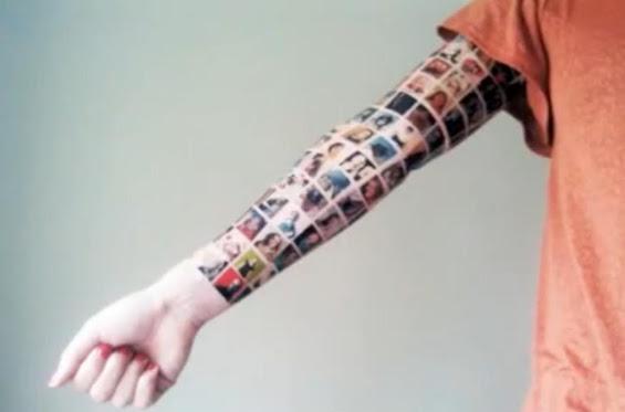 Si-a facut tatuaj cu 152 de prieteni de pe facebook