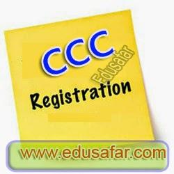 CCC/CCC+  Registration Information