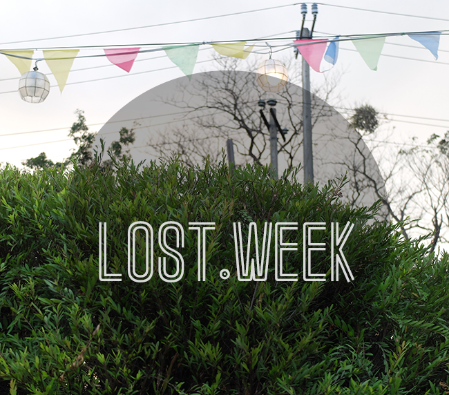The lost week: blogging challenge