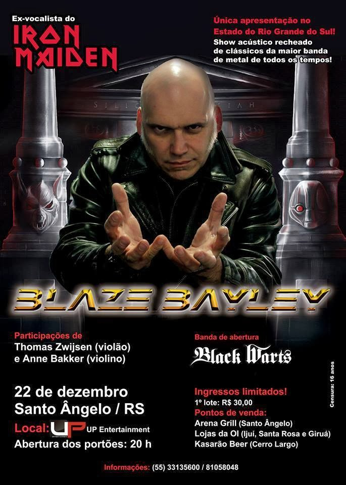 Blaze Bayley no RS!