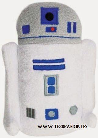 Peluche R2D2 Star Wars 7,93€
