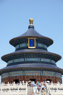 Hall of Prayer for Good Harvests at the Temple of Heaven Park Tiantan in Beijing