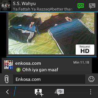 Testimoni Wahyu Santoso di enkosa sport toko online jersey terpercaya