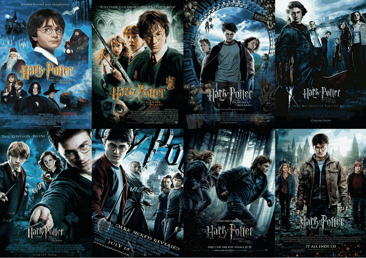 Download Coleção Harry Potter – DVDRip AVI – Dublado [MEGA] Torrent