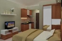 Jasa Desain Interior Apartemen Mewah 2 Kamar Fully Furnish
