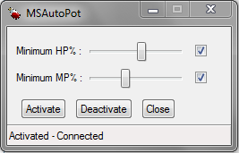AutoPot for Maple Story SEA