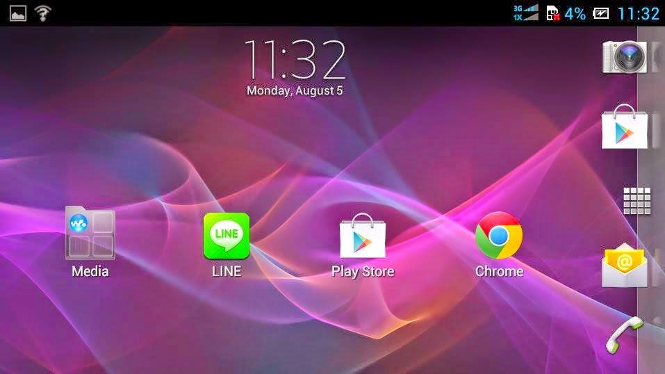 Cara Merubah Tampilan Andromax U Menjadi Sony Xperia / Samsung Galaxy S4