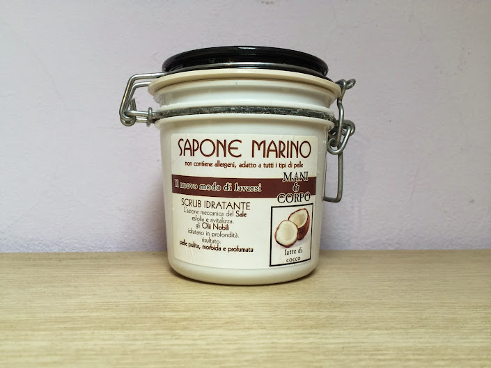 Review: NaClean Sapone Marino Mani&Corpo Scrub Idratante al Latte di Cocco