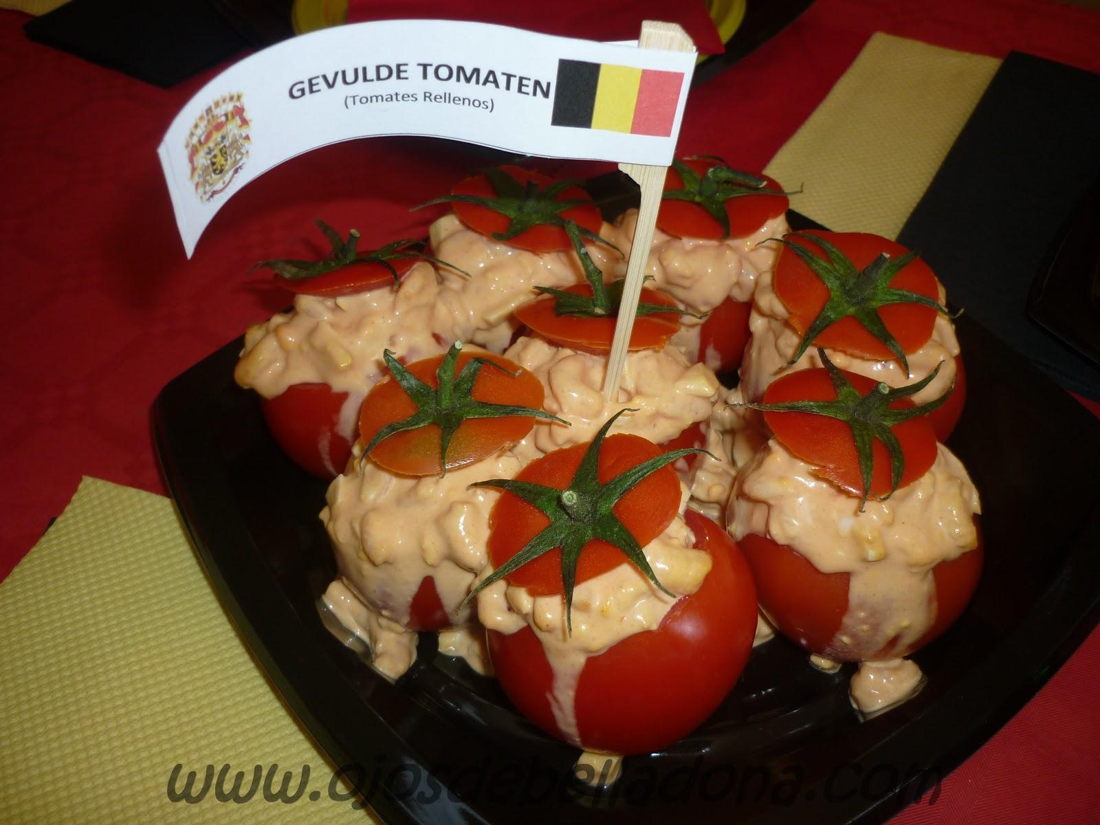 Gevulde tomaten (tomates rellenos), Bélgica