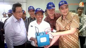 Pabrik Baterai Lithium Pertama di Indonesia