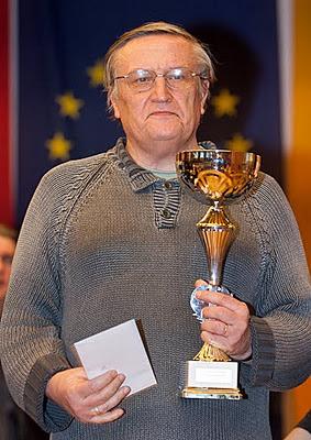 Vladimir Okhotnik, champion du monde vétérans 2015 des plus de 65 ans