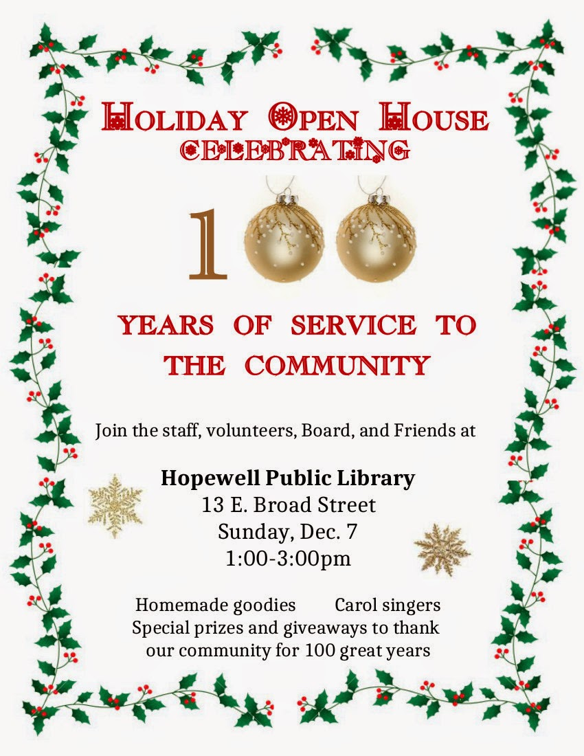 HPL 2014 Holiday Open                 House