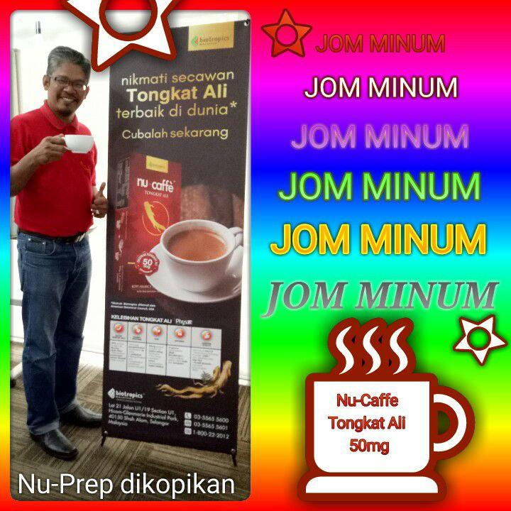 Nu-caffe Tongkat Ali 50mg