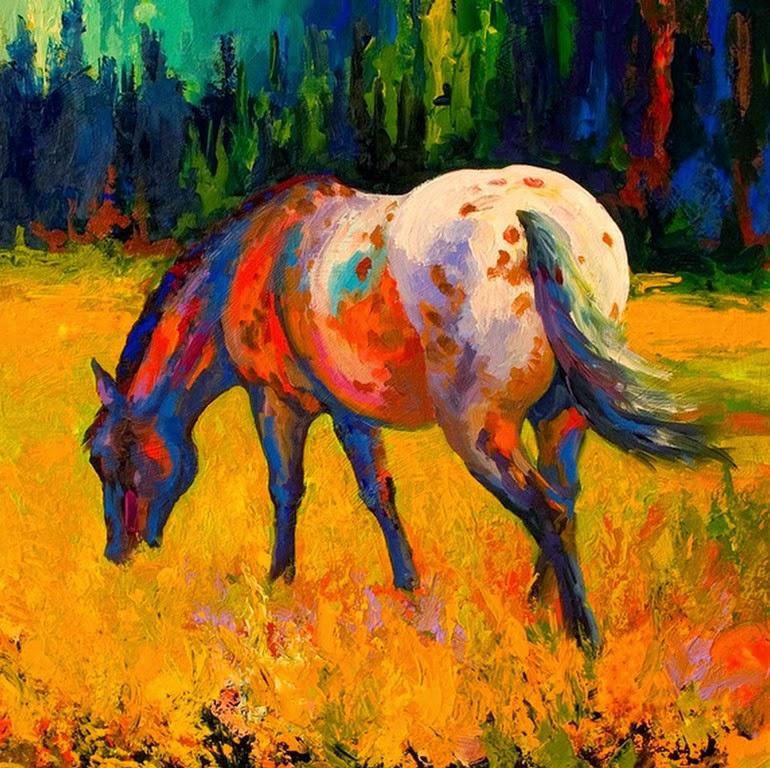 caballos-impresionismo-contemporaneo